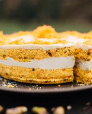 Raw Carrot Cake – prajitura morcov – Greenlicious Oradea (7)