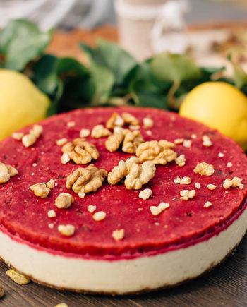 Raw Cherry Cake - prajitura visine - Greenlicious Oradea
