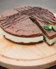 Raw Chocolate Mint Cake – prajitura ciocolata menta – Greenlicious Oradea (1)