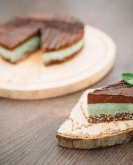 Raw Chocolate Mint Cake – prajitura ciocolata menta – Greenlicious Oradea (3)