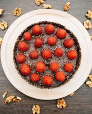 Raw Chocolate Mousse Cake – prajitura mousse ciocolata Greenlicious Oradea (3)