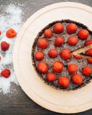 Raw Chocolate Mousse Cake – prajitura mousse ciocolata Greenlicious Oradea (5)