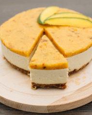 Raw Mango Cake prajitura mango Greenlicious Oradea (5)