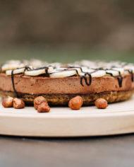 Raw Nutella Banana Cake – prajitura nutella banana – Greenlicious Oradea (3)
