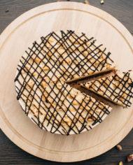 Raw Snickers Cake – prajitura snickers – Greenlicious Oradea (4)