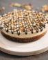 Raw Snickers Cake - prajitura snickers - Greenlicious Oradea